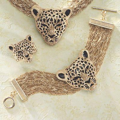 3-D Leopard Bracelet