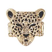 3 d leopard stretch ring