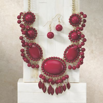 Show Stopper Necklace/Earring Set