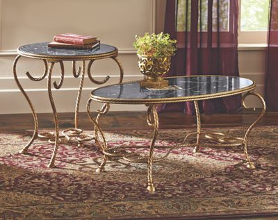 Rope Twist Coffee and End Tables