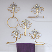 Pure Opulence Set of 4 Bath Accessories