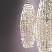 Medium Crystal Lamp