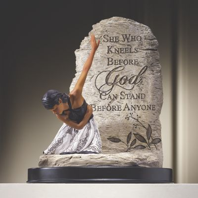 She Who Kneels Sculpture