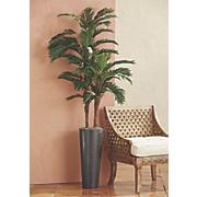 tall faux palm tree