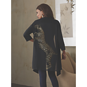 leopard back sweater 71