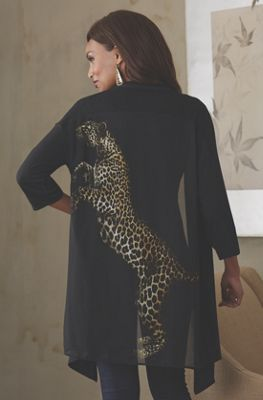 Leopard Back Sweater