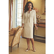 Simone Jacquard Jacket Dress Set