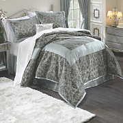 Filigree Flocked Comforter