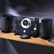 Naxa Compact Shelf or Wall Stereo