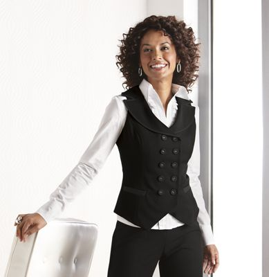Women's Three Pieces Office Lady Stripe Blazer Business Suit Set Women Suits for Work Skirt/Pant,Vest and Jacket by LISUEYNE $ - $ $ 79 99 - $ 82 99 Prime.