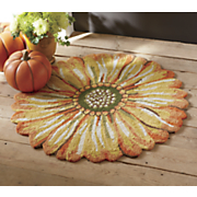 indoor outdoor sunflower mat