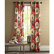 poppies grommet top panels