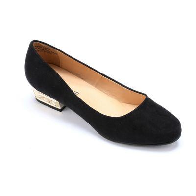 Leopard Heel Shoe by Classique