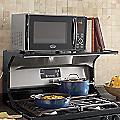 24 Inch Microwave Storage Shelf