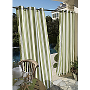 stripe grommet panel