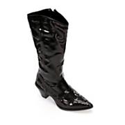 midnight velvet sequin cowgirl boot