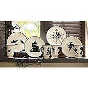 Halloween Mugs and Plates