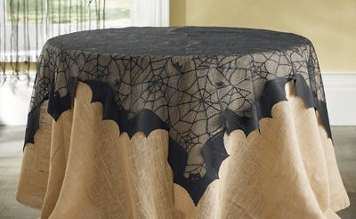 Spiders & Bats Table Topper