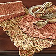 4 piece tangiers placemat set