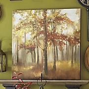 autumn woods canvas