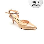 j renee purfect ankle wrap shoe