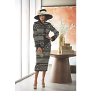 Luella Hat and Lucca Jacket Dress
