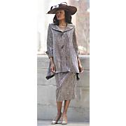 barbra hat and mari skirt suit