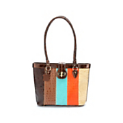 marc chantal elgie animal stripe tote