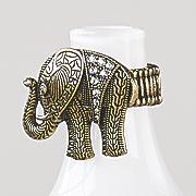 elephant bead stetch ring