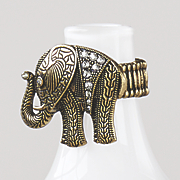 elephant bead stetch ring