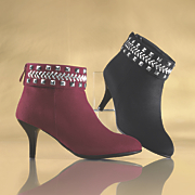 Monroe and Main Studded Cuff Shootie