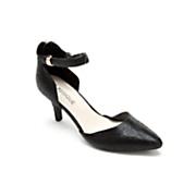 Classique Crinkle Ankle Strap Shoe