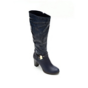 monroe and main woven buckle boot