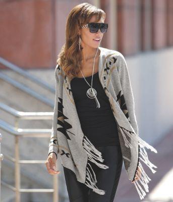 Rockin Fringe Sweater