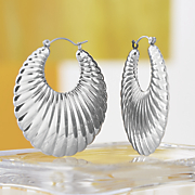 large clamshell hoops