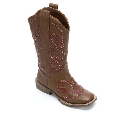 Square Toe Cowgirl Boot by Monroe & Main