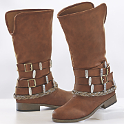 Monroe and Main Multi Ankle Wrap Boot