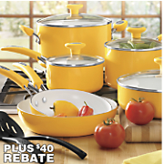 12-Piece Ceramic Cookware Set by Silverstone