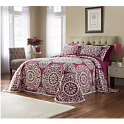 Regal Chenille Bedspread & Sham