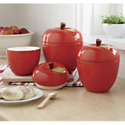 3-Piece Apple Canister Set