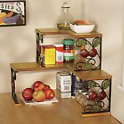 2-Tier Apple Corner Shelf