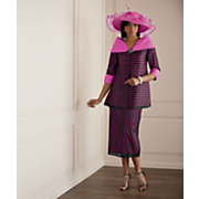 Daneta Hat and Skirt Suit