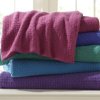 Jewel Cotton Woven Blanket
