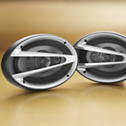 "Naxa Set of Two 6"" X 9"" 3-Way Car Stereo Speakers"