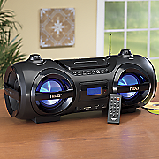 naxa mp3 cd party boombox