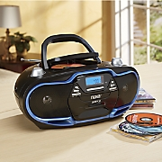 portable mp3 cd player with am fm radio by naxa