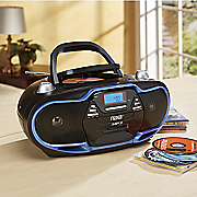 Naxa Portable MP3/CD Player with AM/FM Radio