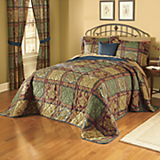 Bedspread, Pillow and Window Treatments