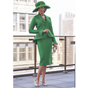 Bessie Hat & Verdi 3-Piece Suit Set