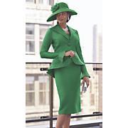 bessie hat   verdi 3 pc  suit set